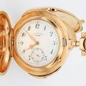 Schwere Goldsavonette von A. Lange & Söhne Glashütte bei Dresden. Mindestpreis:19.500 EUR