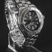 Breitling Herrenarmbanduhr Colt Superocean, 2000 Edelstahlgehäuse und -boden, D: 41,5 mm, Automatik, Uhr läuft, Edelstahlarmband mit Faltschließe, Schätzpreis:1.800 EUR