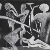 """ACKERMANN Max (1887 Berlin - 1975 Stuttgart) """"Strandszene"""" um 1935, Mindestpreis:3.600 EUR"""