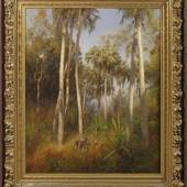 Hermann Ottomar Herzog (1832 Bremen - 1932 Philadelphia/USA) Große Florida-Landschaft in den Everglades Mindestpreis:65.000 EUR