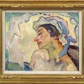 """Leo Putz (1869 Meran - 1940 ebenda) """"Adelheid"""". Originaltitel Mindestpreis:30.000 EUR"""