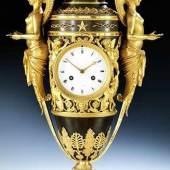 Außergewöhnliche Empire-Uhr, Claude Galle (1759-1815), zug. Höhe: 63 cm. Schätzpreis: