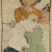 Toulouse-Lautrec, Henri de (1864 Albi - 1901 Schloss Malromé), Mademoiselle Marcelle Lender, en buste, Mindestpreis:3.800 EUR
