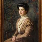 Albert Haueisen, Portrait der Sophie Margharete Schuncke Schätzpreis:800 - 1.000 EUR