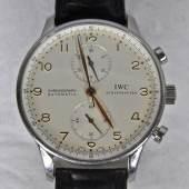 HERRENARMBANDUHR IWC Chronograph, Automatic, Portugieser, International Watch Schaffhausen,  Mindestpreis:2.500 EUR