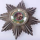 Preussen Hoher Orden vom Schwarzen Adler, Bruststern von Godet aus Besitz des Generalleutnant Johann Friedrich Karl II. von Alvensleben