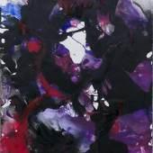 Thieler, Fred.  (1916 Königsberg - 1999 Berlin). o.T. 1990. Gouache und Ölfarbe auf Bütten. 108 x 74 cm.  Schätzpreis:6.000 EUR