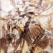 """Rudi Baerwind, """"Jazz"""", großes informelles Ölgemälde, Paris 1961/66 Aufrufpreis:350 EUR Schätzpreis:1.800 - 2.000 EUR"""