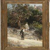 Achenbach, Oswald Im Klostergarten von San Albano, Schätzpreis:6.000 EUR