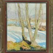 Kalvoda, Alois, 1875 Brünn - 1934 Beharov Öl/Lwd, 56 x 45,5 cm Mindestpreis:1.000 EUR