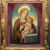 Anonymer Florentiner Meister um 1490/1500 - Umkreis Domenico Ghirlandaio, Schätzpreis:25.000 - 30.000 EUR