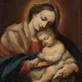 Giovanni Battista Salvi, gen. Sassoferrato 1609 Sassoferrato - 1685 Rom Schule, Aufrufpreis:8.000 EUR Schätzpreis:10.000 EUR Zuschlagspreis:9.000 EUR