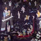 Ahnentafel - Wandbehang China 19. Jhd. Mindestpreis:1.900 EUR