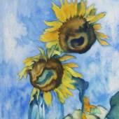 Heinrich Nauen 1880 Krefeld - 1940 Kalkar Sonnenblumen Schätzpreis:4.000 - 6.000 EUR