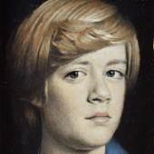 Tübke, Angelika (1935 Dessau - lebt in Dalliendorf) Öl/Karton, Porträt des Sohnes Adrian, Aufrufpreis:700 EUR