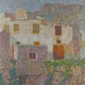 Walter Ophey 1882 Eupen - 1930 Düsseldorf Gasse in Positano Schätzpreis:15.000 - 20.000 EUR