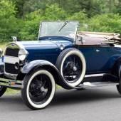 """Legendärer Ford """"A Roadster"""" von 1928, USA. Detroit. 1928. Mindestpreis:24.500 EUR"""
