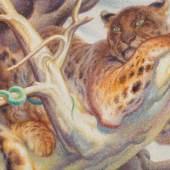 Norbertine Bresslern-Roth*  Baum, 1960 Öl auf Jute, 75 x 98 cm Schätzpreis:70.000 - 140.000 EUR