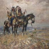 Julius Seyler, Blackfoot-Indianer Schätzpreis:5.000 - 7.000 EUR