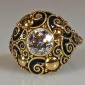 Ring, Feldmann, Bielefeld, ungemarkt, GG 585, Mindestpreis:2.000 EUR
