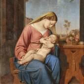 Anton Psenner 1791 Völs am Schlern - 1866 Bozen - Madonna mit Christuskind Aufrufpreis:25.000 EUR Schätzpreis:30.000 EUR