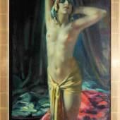 """Arnulf de Bouché, """"Bajadere"""" (indische, exotische Tänzerin),  Schätzpreis:1.600 - 1.800 EUR"""