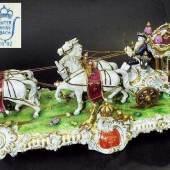 """Große vierspännige Prunk- Kutsche """"Ludwig XIV"""". Mindestpreis:900 EUR"""