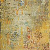 Downing, Joe.  1925 Tompkinsville - Menerbes 2007 Kompostion mit Zahlen und Buchstaben. Öl/Lwd. Sign. 162 x 130 cm. Gerahmt.  Aufrufpreis:2.200 EUR