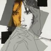 "Andy Warhol 1928 Pittsburgh - 1987 New York - ""Mick Jagger""  Aufrufpreis:15.000 EUR Schätzpreis:30.000 EUR"
