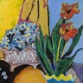 Steiner, Heinrich.  1911 Kaiserslautern - Rom 2009 Zwei Blumentöpfe.  Aufrufpreis:3.500 EUR