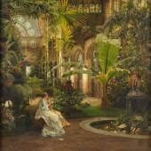 Vahldiek, Johannes (1839 Braunschweig - 1914 Eutin) Öl/Lwd., Aufrufpreis:1.500 EUR