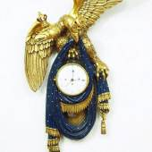 Josephinische Adleruhr, Doppeladler mit Kronen. Mindestpreis:500 EUR