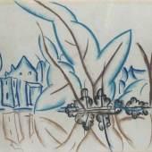Walter Ophey 1882 Eupen - 1930 Düsseldorf Schwanenspiegel chätzpreis:2.000 - 2.500 EUR Zuschlagspreis:5.000 EUR