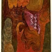 """Paul Klee (Münchenbuchsee 1879 – 1940 Muralto bei Locarno) """"Dryaden"""". 1939 Schätzpreis:400.000 - 600.000 EUR"""