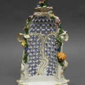 Porzellanlaube, Meissen, Schwertermarke, 1774-1817 Mindestpreis:800 EUR