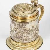Bedeutender Deckelhumpen Moskau, Peter Semenow, 1739 Silber, gegossen, Schätzpreis:12.000 - 14.000 EUR