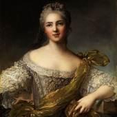 Nattier, Jean Marc 1685 Paris - 1766 Portrait der Victoire de France Öl, Schätzpreis:300.000 - 400.000 EUR