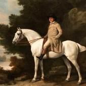 Stubbs, George 1724 - 1806 Portrait eines Herren zu Pferd Öl , Schätzpreis:1.800.000 - 2.500.000 EUR