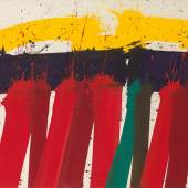 Markus Prachensky* (1932 – 2011) Maremma, 1985 Acryl auf Leinwand; gerahmt, 130 x 175 cm Zuschlag: € 55.000 Kaufpreis: € 69.300
