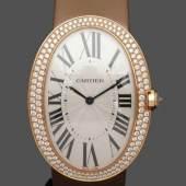 Repräsentative Damenarmbanduhr mit Brillantlünette, Aufrufpreis:11.000 EUR Schätzpreis:13.000 EUR Zuschlagspreis:26.000 EUR