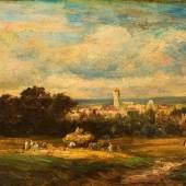 Carl Spitzweg. 1808 - München - 1885. Monogramm S im Rhombus. Das Werk ist zwischen 1860 und 1870 einzuordnen. Mindestpreis:20.000 EUR