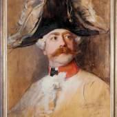 Philip Alexius de Lászlo, Ausdruckstarkes Brustbildnis des Hugo von Reischach, Ölgemälde von 1899, gerahmt Philip Alexius de Lászlo  Aufrufpreis:450 EUR Schätzpreis:2.500 - 2.800 EUR