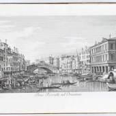 Canaletto. - Visentini, A. Urbis Venetiarum prospectus celebriores. Schätzpreis:40.000 EUR