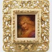 Matejko, Jan Alojzy (Krakau 1838 - 1893 Krakau)  Gemälde/Studie, Öl auf Karton, Portrait eines kleinen Mädchens Mindestpreis:6.000 EUR