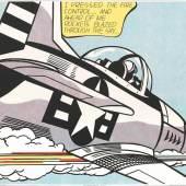 """Roy Lichtenstein (1923 New York - 1997 ebenda) """"Whaam"""" Originaltitel, Mindestpreis:6.500 EUR"""