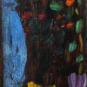 """Alexej von Jawlensky, """"Blumen mit blauer Vase"""" Mindestpreis:22.000 EUR"""