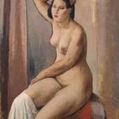 """Johannes Beutner """"Susanna im Bade"""". 1947. Schätzpreis:14.000 EUR"""