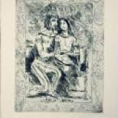 Los 46 Corinth, Lovis Radierung auf Zanders Velin mit Wasserzeichen, 27,7 x 21,7 cm Weislingen und Marie Schätzpreis: 500 - 500 EUR