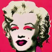 "Andy Warhol (1928 Pittsburgh - 1987 New York) ""Marilyn"". Originaltitel, Mindestpreis:	5.500 EUR"