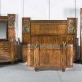 Jugendstil Schlafzimmer Ensemble, um 1900, Mindestpreis:9.900 EUR